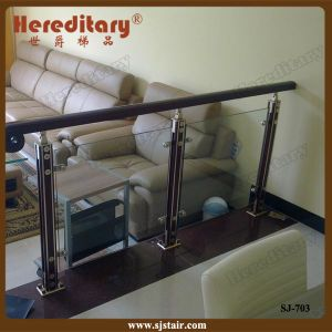 High Quality Aluminum Glass Stair Railing System (SJ-703) pictures & photos