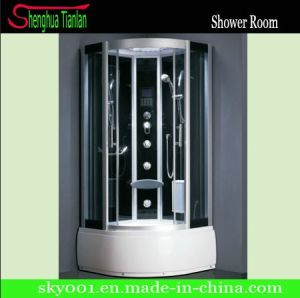 Computer Panel Hydro Massage Steam Shower Cabin with Folding Seat (TL-8849) pictures & photos