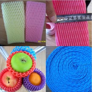 Popular Wholesale America Polythene Expanded White Foam Sleeve Net Protect Apples pictures & photos
