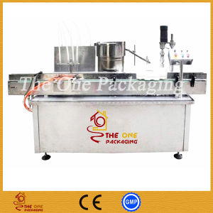 Fully Automatic Butter Jars Clean Filling Capping Vacuum Sealing Labeling Machine pictures & photos