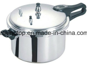 4L Prerssure Cooker Aluminum Alloy Polish Finish