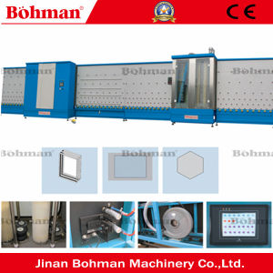 Vertical Flat Press Double Glass Making Igu Machine pictures & photos