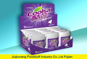 Bottle Packing Sugar Free Blueberry Chewing Gum pictures & photos