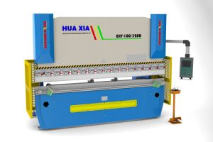 Wd67k Hydraulic CNC Press Brake Linear Encoder, Back Gauge up and Down Da52 Control or Other CNC Press Brake pictures & photos