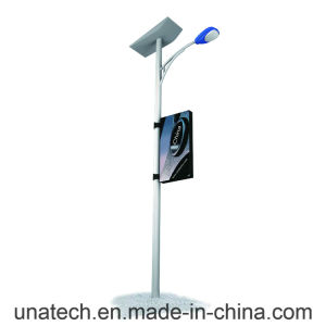 Street Light Pole Outdoor Advertising LED Media Image Fabric Light Box Billboard pictures & photos