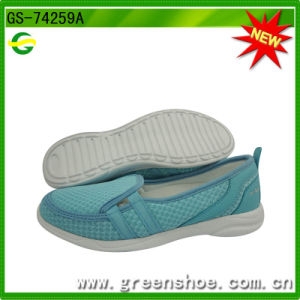 New Comfortable Lady Casual Shoes (GS-74259) pictures & photos