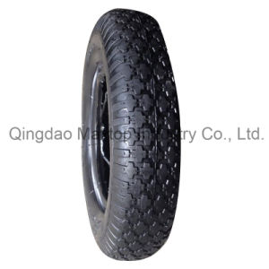 4.00-8 Wheel Barrow Tire with Cross Pattern pictures & photos