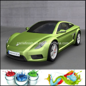 Factory Price Auto Refinish 1k Green Crystal Pearl Paint pictures & photos