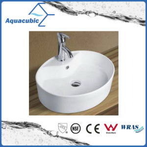 Ceramic Cabinet Art Basin and Vanity Top Hand Washing Sink (ACB8029) pictures & photos