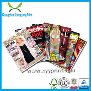 Factory Custom Made Cheap Magazine Printing pictures & photos