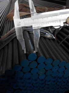 Black Seamless Steel Pipe, ASTM A106 Gr. B Varnish Painted Smls Pipe pictures & photos