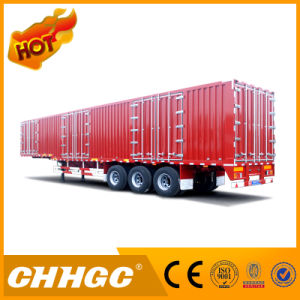 Chhgc New Type Van/Box Truck Semi-Trailer pictures & photos