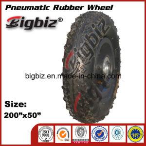 Pneumatic Rubber Wheelbarrow Rubber Wheel (4.80/4.00-8) pictures & photos