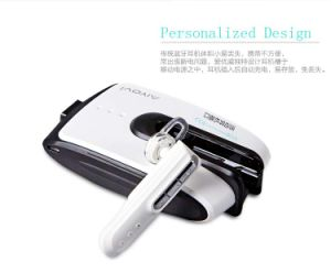 2-in-1 Portable Battery Pack Power Bank for Mobile Phone with Bluetooth Headset 5200 mAh pictures & photos