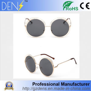 Round Rotating Vintage Polarized Lens Mirror Sunglasses pictures & photos