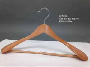 Fsc/BSCI Certification Natural Color Wooden Hanger pictures & photos