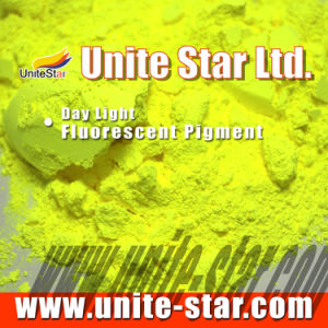 Day Light Fluorescent Pigment Lemon Yellow for Textile Printing Color Paste pictures & photos