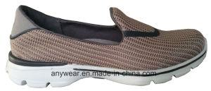 Women Slip on Footwear Comfort Walking Shoes (515-2731) pictures & photos