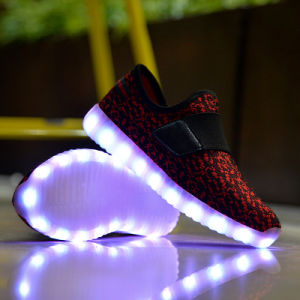 Original Shoes Factory High Quality Cheap LED Shoes for Kids pictures & photos