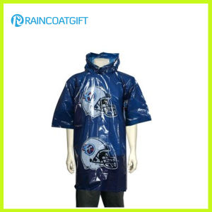 Emergency Disposable Waterproof Poncho with Logo Print pictures & photos