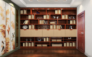 Solid Bamboo Study Room Furniture (zj-006) pictures & photos