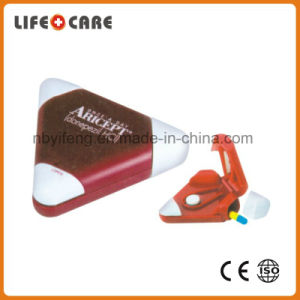 Plastic Pillbox Cutter with Keychain for Promotion pictures & photos