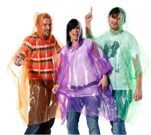 Disposable Rain Cloth