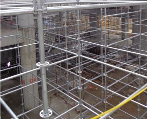 Construction System Scaffolding on Construction Site pictures & photos