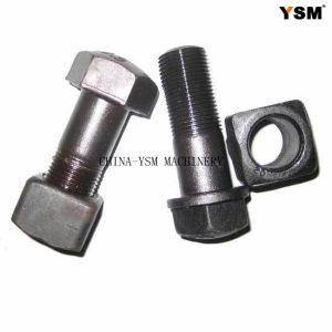 Track Bolt&Nut for Undercarriage Parts (D6D, D60, D7G, D80, D85) pictures & photos