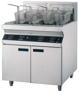 Luxury Electric Fryers---Double Tanks (FEHCD162) pictures & photos