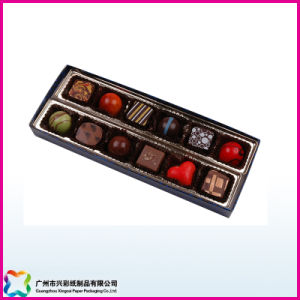 Chocolate Packaging Box with Plastic Lid (XC-10-001) pictures & photos