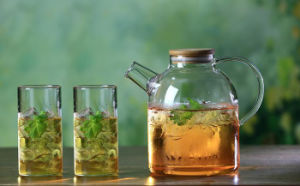 Handmade High Quality Glass Teapot Coffee Pot for Household pictures & photos