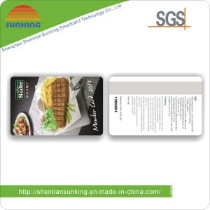 High Quality Plastic Magnetic Strip Card (SK- M11)