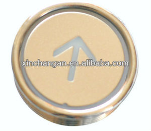 Elevator Round Push Button, Elevator Parts, Lift Parts (CN100) pictures & photos