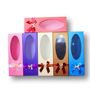 Hot Paper Pillow Box for Hair Extension Packaging
