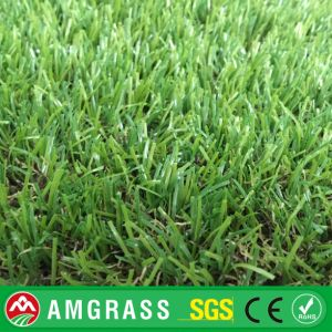 Golden Manufacturer High Quality U Shape Artificial Grass / Synthetic Grass for Garden Landscaping