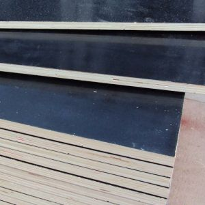 Anti-Slip Film Faced Plywood with Company Logo pictures & photos