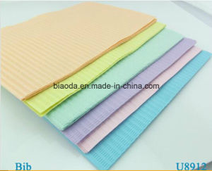 OEM Disposable Colorful Dental Bibs for Adult or Children 33*45cm, 3 Ply, 500PCS/CTN pictures & photos