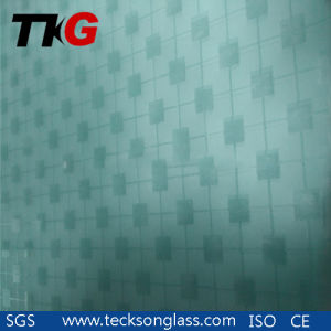 4-12mm Acid Etched Glass with Designs pictures & photos