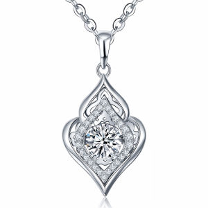 New Fashion 925 Silver Jewelry Dancing Diamond Pendants pictures & photos