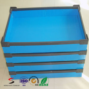 Colored Custom DSC/Stackable Tote Plastic Corrugated Sheet Boxes for Packing pictures & photos