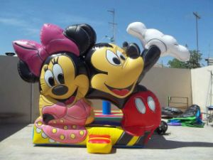 Mickey Bouncy Castle, Mickey Jumping Bouncer, Bouncy Castle Inflatable China pictures & photos