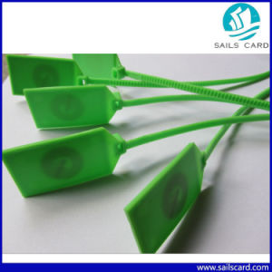 One-Time Use Passive RFID UHF Cable Tag pictures & photos