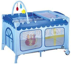 High Quality Portable Kids Furniture European Standard Baby Bed pictures & photos