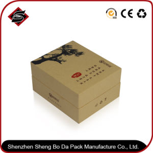 Single White Kraft Paper Hard Cardboard Gift Storage Box pictures & photos