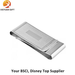 Silver Plating Money Clip with Custom Logo pictures & photos