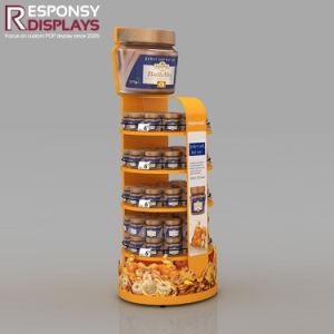 Hot-Sale Peanut Butter Fruit Jam Display Shelves pictures & photos