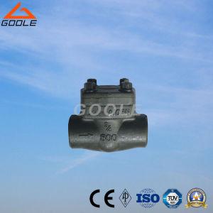 900lb/1500lb Forged Steel Welded Bonnet Piston Check Valve (GAH61H) pictures & photos