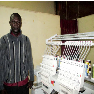 2 Heads Computerized Embroidery Machine for Africa Market Chinese Manufacutre pictures & photos