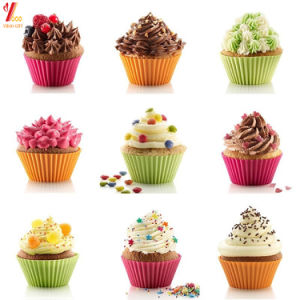 Nonstick and Heat Resistant Reusable Silicone Cake Molds (YB-SC-010) pictures & photos